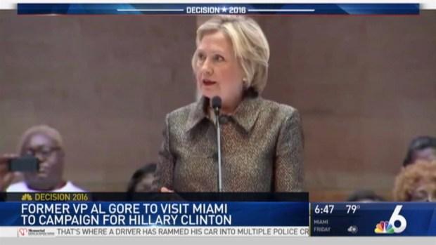 [MI] Hillary Clinton Making Campaign Stop in Miami