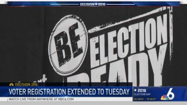 [MI] Judge Extends Voter Registration Deadline in Florida