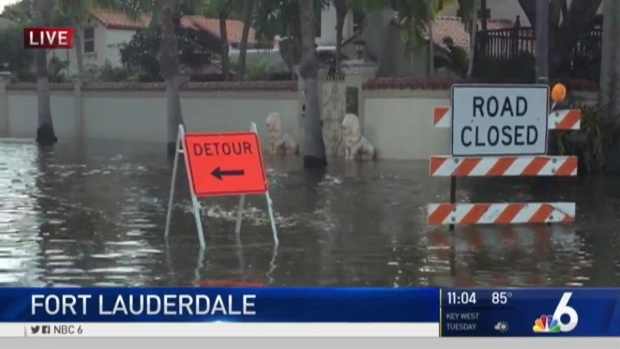 [MI] NBC 6's Team Coverage of King Tides Across South Florida