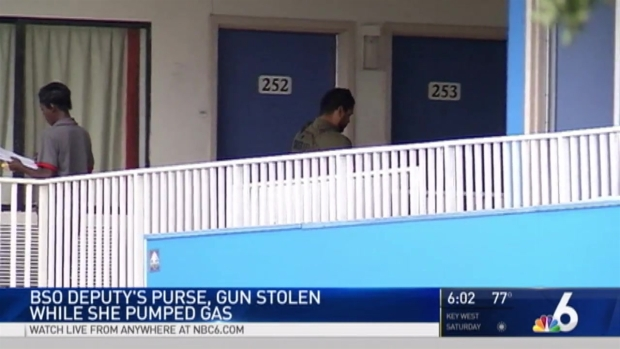 [MI] 4 in Custody After BSO Deputy's Purse Stolen, Standoff at Dania Beach Motel: Police