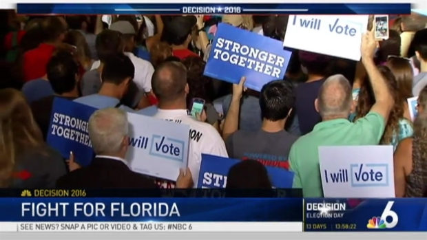 [MI] Donald Trump, Hillary Clinton Hold Rallies in South Florida