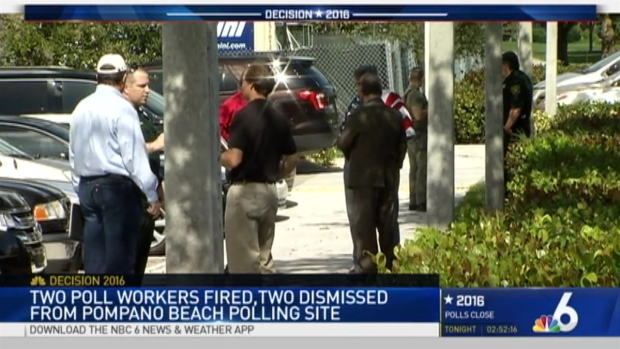 [MI] Precinct Clerks Fired, Volunteers Dismissed After Scuffle at Pompano Beach Polling Site