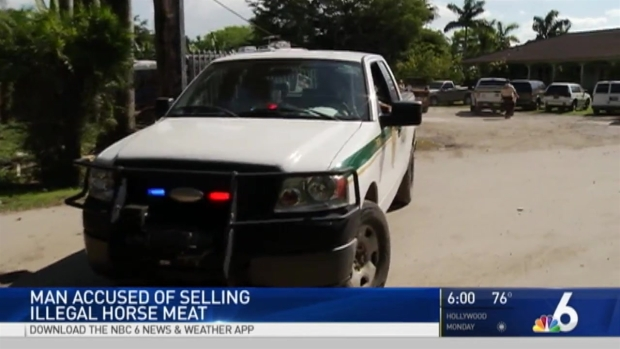 [MI] Northwest Miami-Dade Man Arrested For Illegally Selling Slaughtered Horse Meat