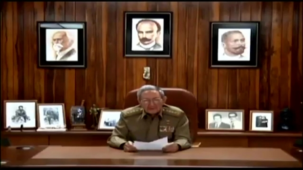 [MI] Video of Raul Castro Announcing Death of Fidel Castro