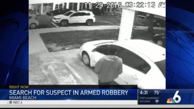 [MI] Suspect Sought in Violent Alton Road Armed Robbery: Miami Beach Police