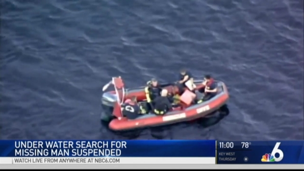 [MI] Under Water Search Suspended for Missing Man in Blue Lagoon