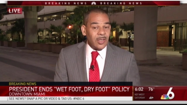 [MI] Obama Ending Wet Foot, Dry Foot Policy for Cubans
