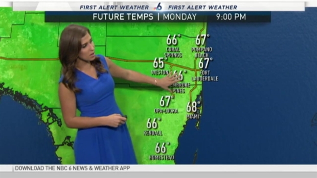 Cool Down In South Florida Early Tuesday Nbc 6 South Florida