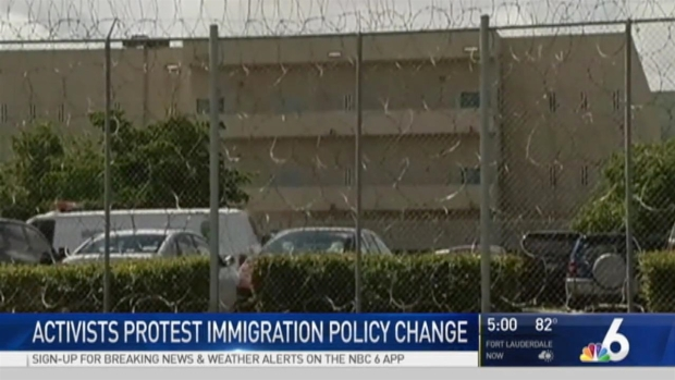 [MI] Heated Protest Over Miami-Dade Mayor's Immigration Move