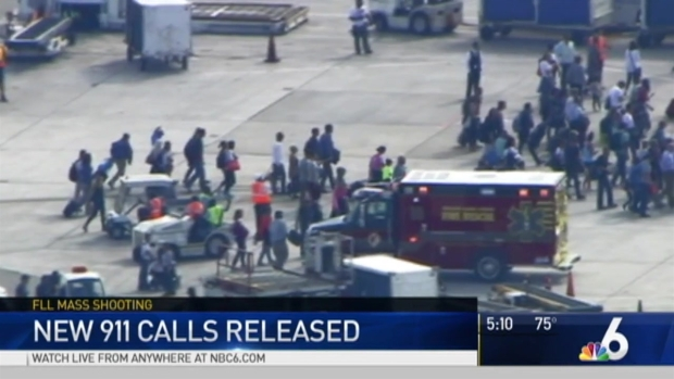 [MI] More 911 Calls Released in Fort Lauderdale Airport Shooting