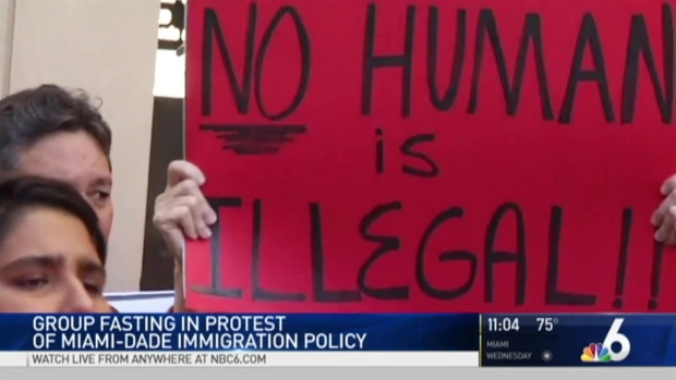 [MI] Protesters Plan Hunger Strike Regarding Gimenez's Immigration Stance
