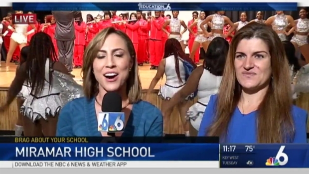 [MI] NBC 6 Brag About Your School - Miramar High School