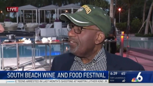 [MI] NBC's Al Roker Live at South Beach Food and Wine Festival