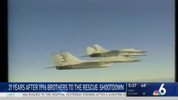 [MI] Friday Marks 21st Anniversary of Brothers to the Rescue Flight Shoot Down