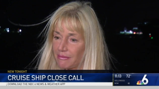 Florida couple: Cruise ship came too close to home