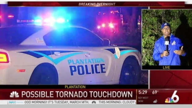 [MI] Possible Tornado Touches Down Overnight in Plantation