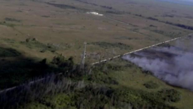 [MI] Card Sound Road Brush Fire