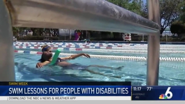 [MI] Programs Teaching Disabled Persons How to Swim