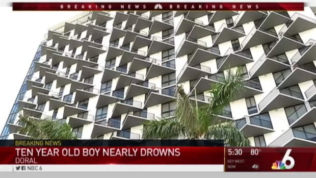 [MI] Doral Child Near Drowning