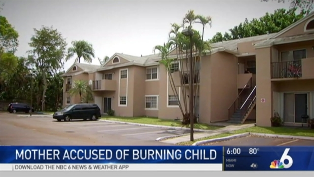 [MI] Pembroke Pines Mother Accused of Burning Child With Iron