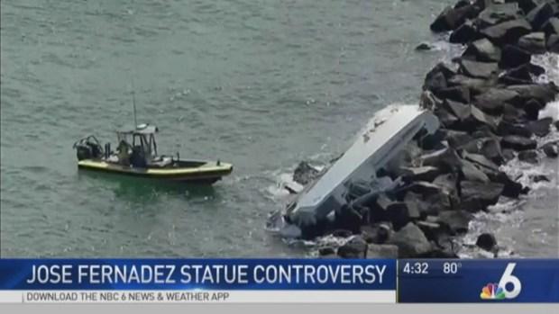 [MI] Advocates Protest Against Planned Jose Fernandez Statue