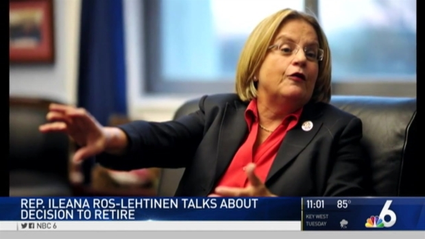 [MI] Ileana Ros-Lehtinen Officially Announces Retirement From Congress