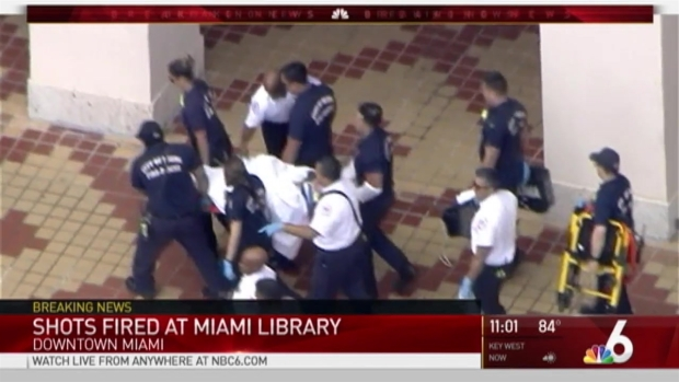 [MI] Person in Custody After Shooting Near Downtown Miami Library
