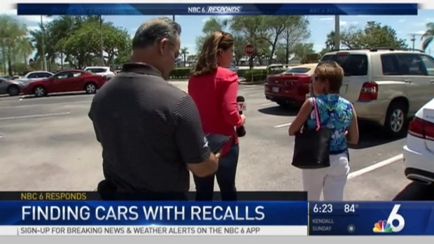 [MI] 1 out of 4 Cars in South Florida Has Unfixed Recall: Expert