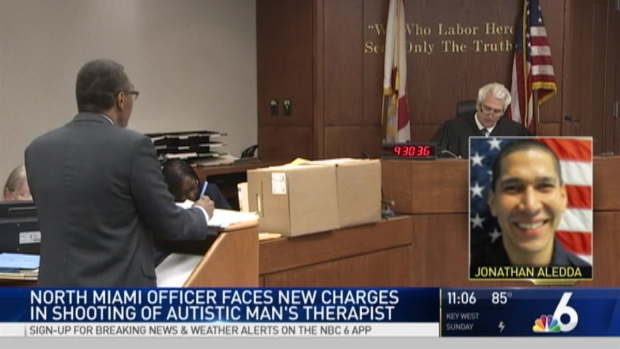Autistic man's family sues over Florida police shooting