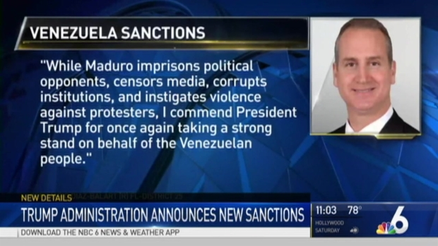 [MI] South Florida Lawmakers React to Venezuela Sanctions