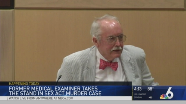 [MI] Former Medical Examiner Testifies at Trial of Broward Man Who Claims Girlfriend Died During Oral Sex