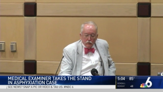 [MI] Ex-Medical Examiner Takes Stand in Broward Asphyxiation Trial