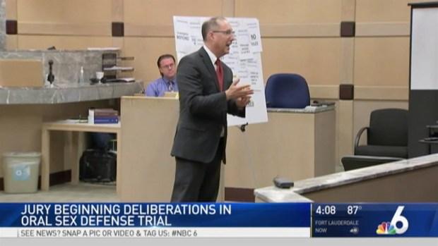 [MI] Jury Deliberations Underway in Oral Sex Defense Trial