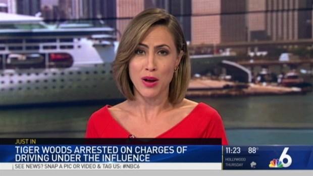 [NATL-MI] Golf Legend Tiger Woods Arrested in Fla. on DUI Charge