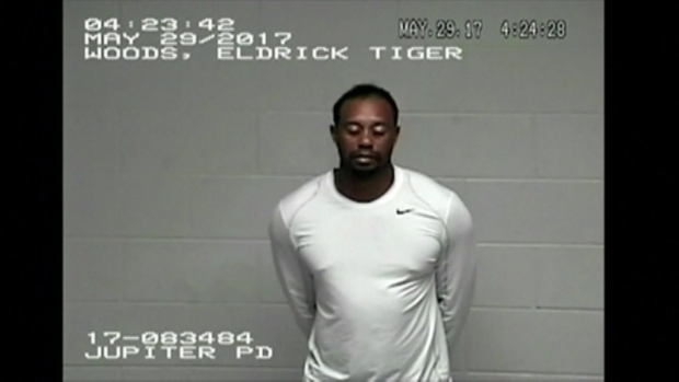 [NATL-MI] RAW VIDEO: Tiger Woods Jail Video Released After Memorial Day Arrest