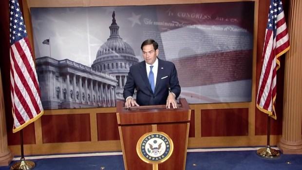 [MI] Sen. Marco Rubio Addresses Relief Efforts in Puerto Rico After Maria