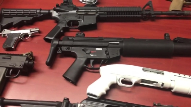 [MI] Miami Beach Police Weapons Seized