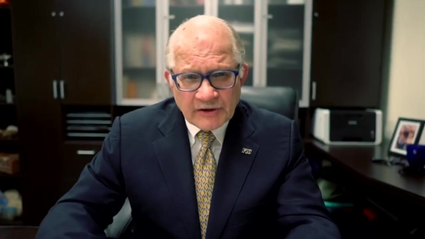[MI] FIU President Addresses Bridge Collapse