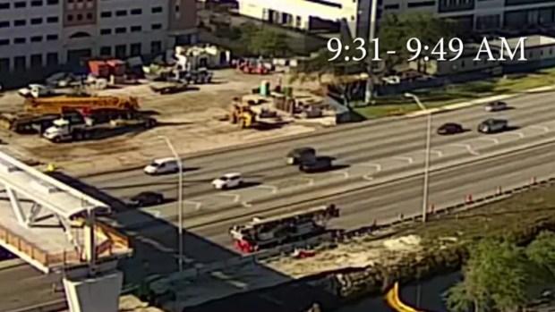 FIU Bridge Collapse - Video Fills in Time