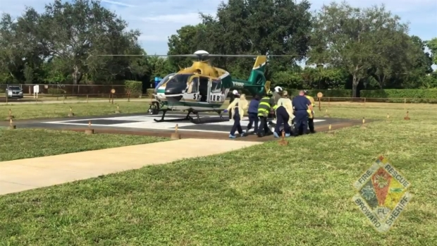 [MI] Worker Flown to Hospital After Arm Severed in Hillsboro Beach