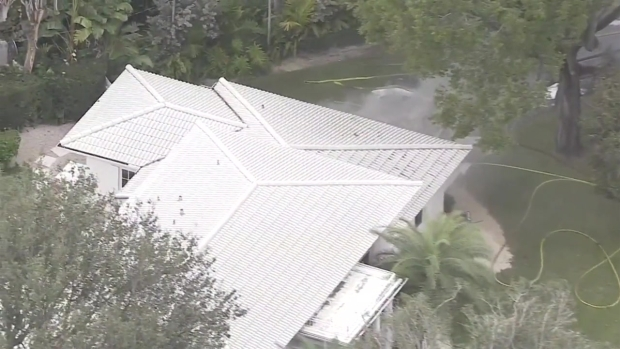 [MI] RAW: Scene of House Fire in Coral Gables