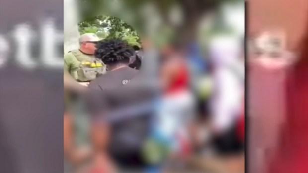 [MI] Raw: Cellphone Videos Show BSO Deputies Tackle Teens