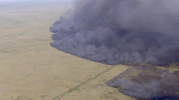[MI] Massive Fire Engulfs Portion of Everglades in Broward County
