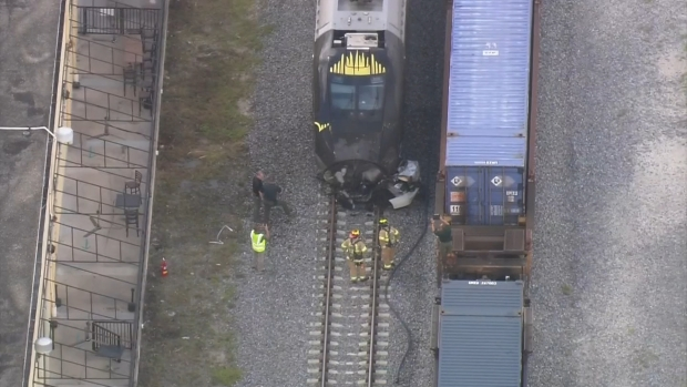 [MI] Train Collides With Car Outside Oakland Park Brewery