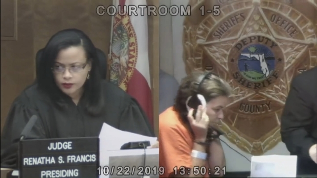 [MI] Miaria Roman-Strick Appears in Bond Court