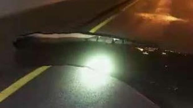 [MI] Water Main Break Closes South Florida Causway
