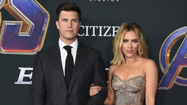 [NATL] Celebrity Hookups: Scarlett Johansson, Colin Jost Engaged