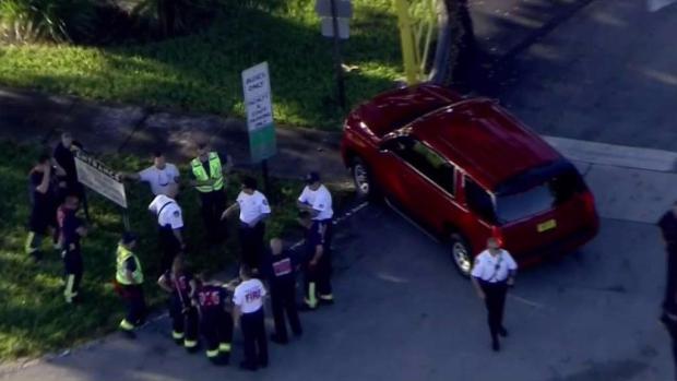 [MI] Woman Hit by Car Outside Coral Springs School