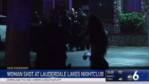 [MI] Woman Shot at Lauderdale Lakes Nightclub