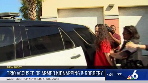 [MI] Woman and 2 Men Arrested in Davie Abduction and Robbery